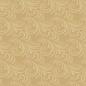 Paper cut out seamless floral pattern.