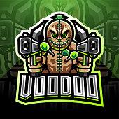 Illustration of Voodoo Gunner esport mascot