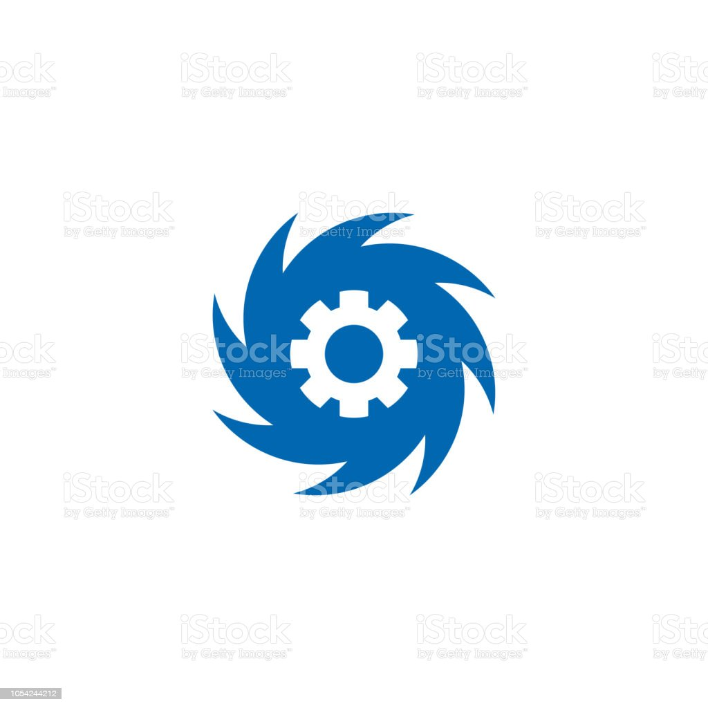 Vortex Icon Symbol Design Vector Illustration Stock Illustration
