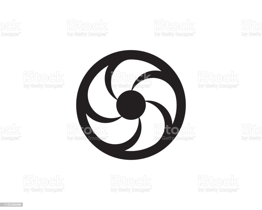 Vortex Vector Illustration Icon Stock Illustration - Download Image