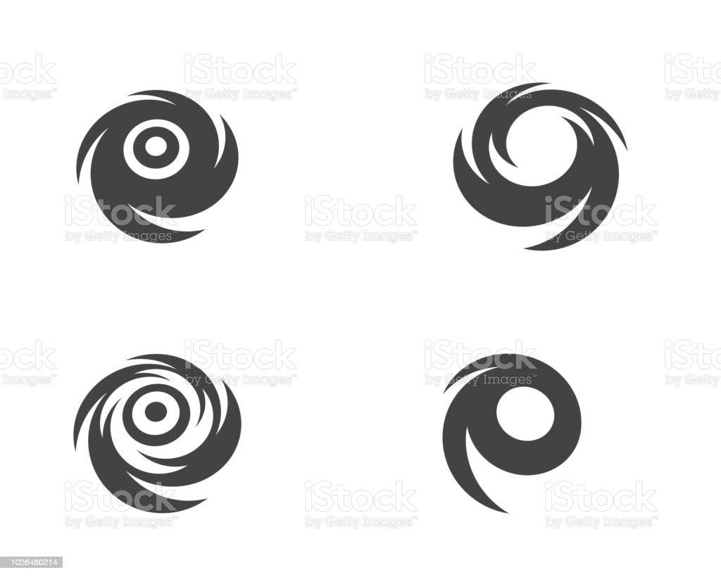 Vortex Vector Illustration Stock Illustration - Download Image Now
