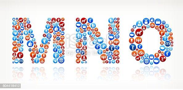 istock MNO Vote and Elections USA Patriotic Icon Pattern 504418412