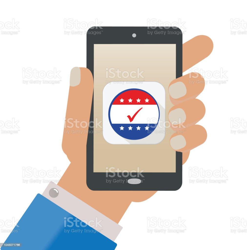 Vote App Stock Illustration - Download Image Now - iStock