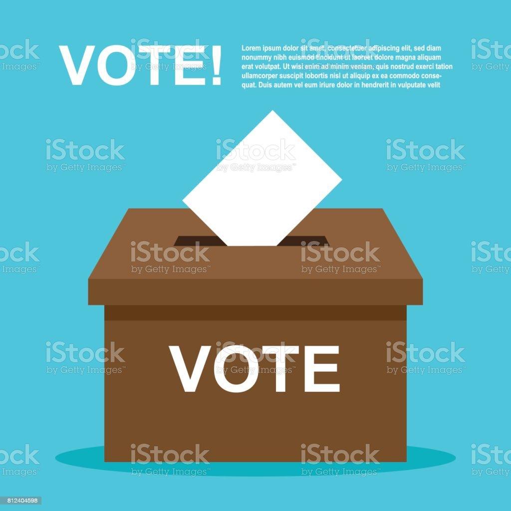 vote , election. democracy vector illustration. vector art illustration