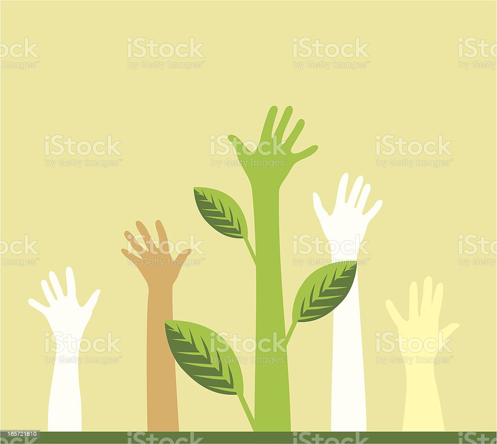 Vote for ecology royalty-free vote for ecology stock vector art & more images of a helping hand