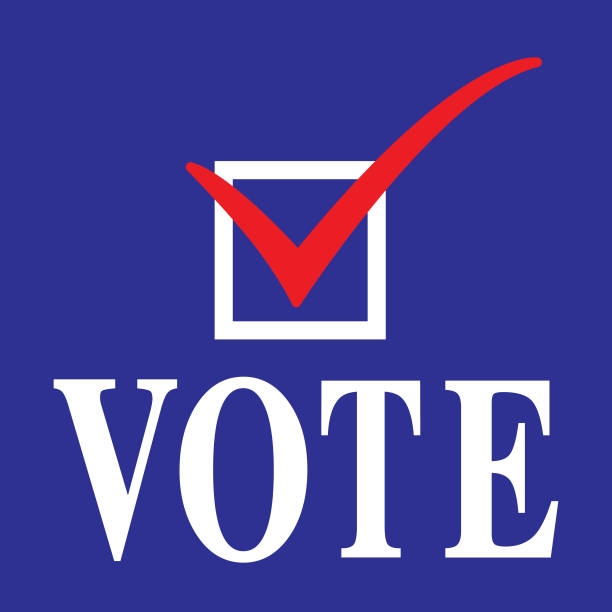 vote icon - vote stock illustrations