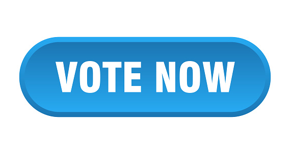 Vote Now Button Vote Now Rounded Blue Sign Vote Now Stock Illustration -  Download Image Now - iStock