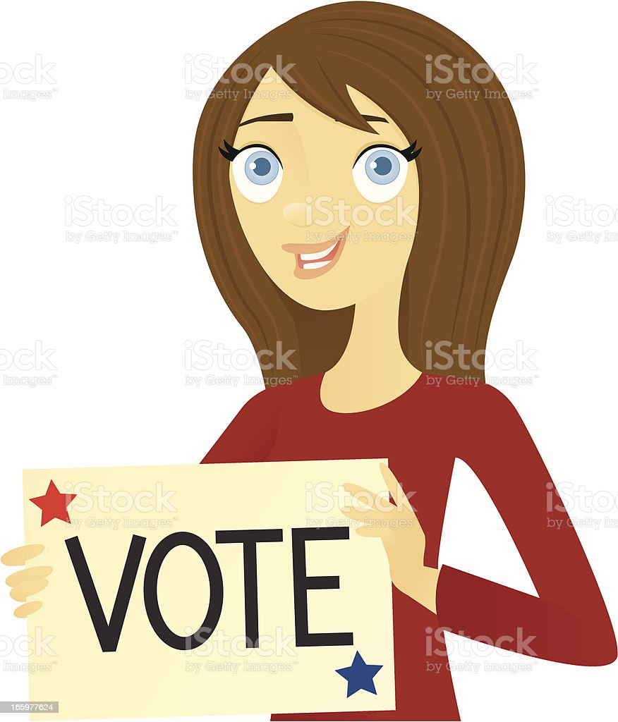 Vote royalty-free stock vector art
