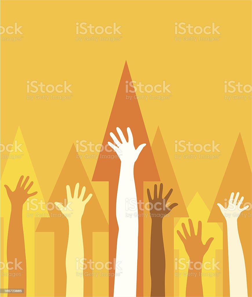 Voting royalty-free voting stock vector art & more images of a helping hand