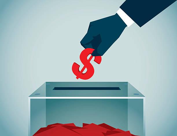 ilustrações de stock, clip art, desenhos animados e ícones de da votação - corruption