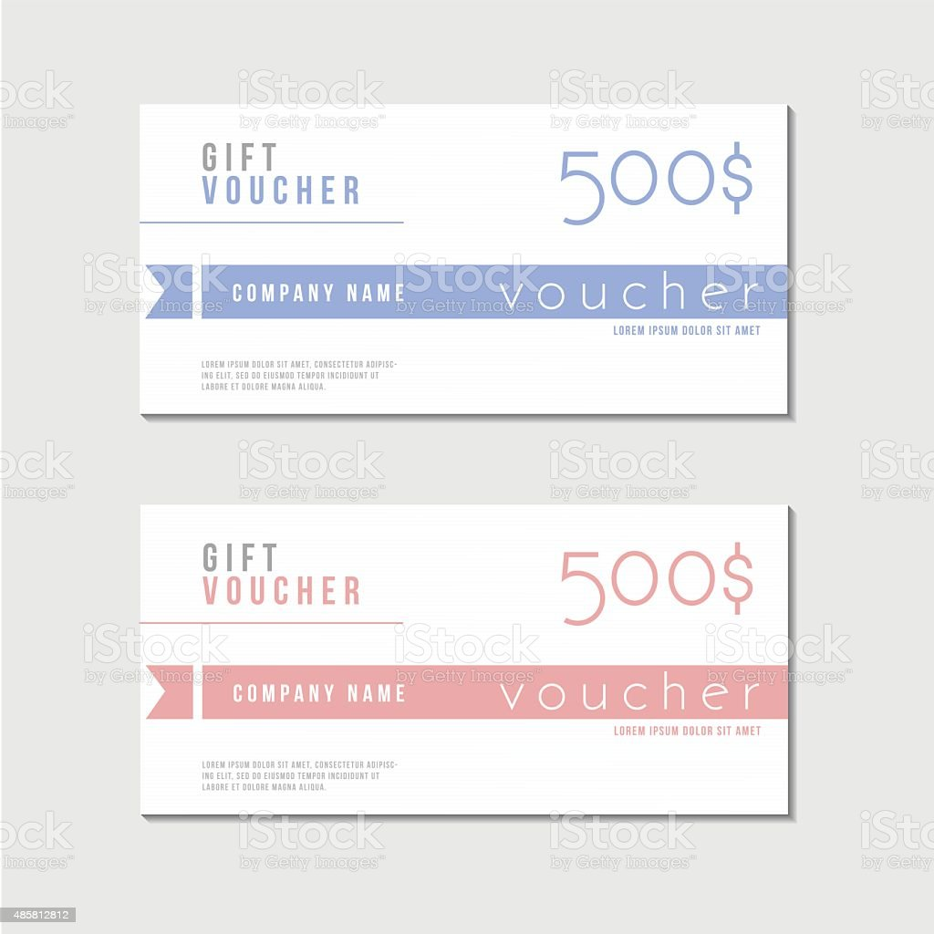 Voucher Template With Premium Minimal Style Pattern Royalty Free Voucher  Template With Premium Minimal Style  Check Voucher Template