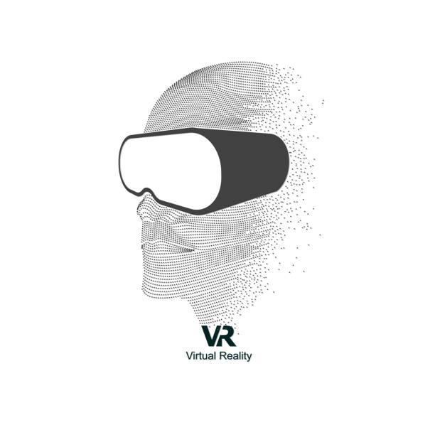 vr ヘッド - ゲーム ヘッドフォン点のイラスト素材/クリップアート素材/マンガ素材/アイコン素材