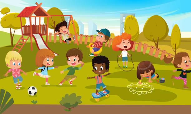w+12 - recess stock illustrations, clip art, cartoons, & icons