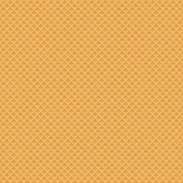 ウエハースシームレスな質感 - ワッフル点のイラスト素材/クリップアート素材/マンガ素材/アイコン素材