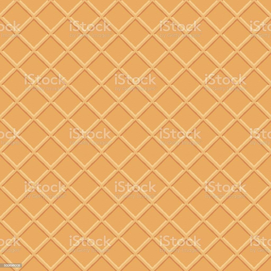 Wafer Seamless Vector Pattern vector art illustration