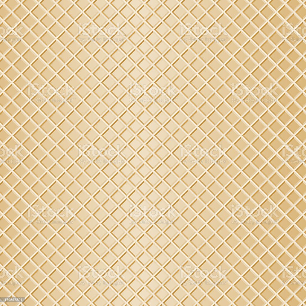 waffle as background vector art illustration