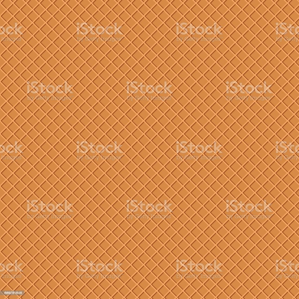 waffle texture beautiful banner wallpaper design illustration vector art illustration