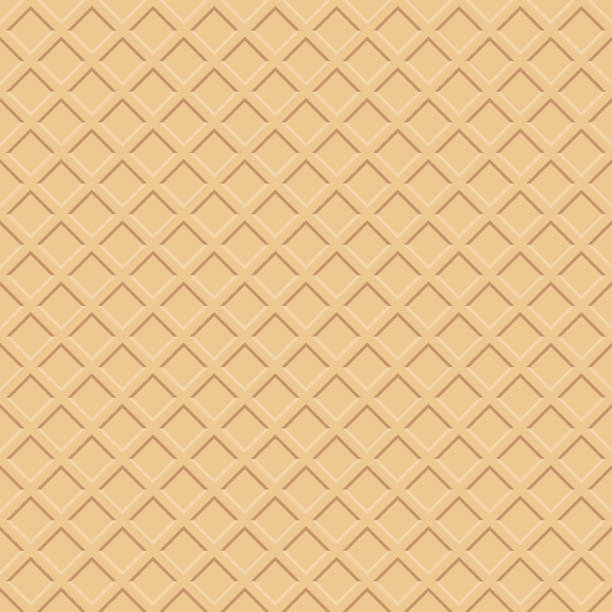 ワッフルの質感 - ワッフル点のイラスト素材/クリップアート素材/マンガ素材/アイコン素材