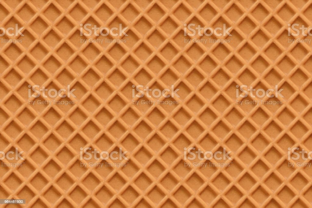Waffles, seamless texture vector vector art illustration