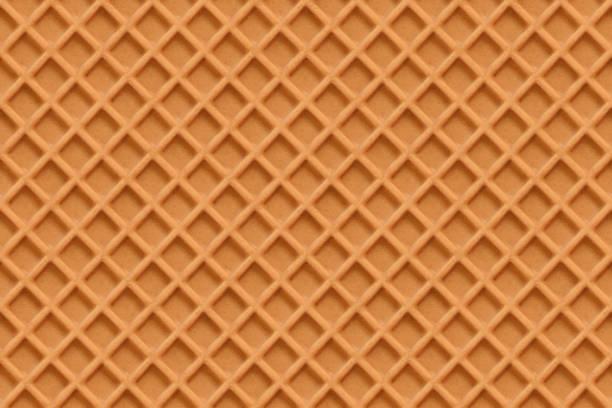 Waffles, seamless texture vector vector art illustration