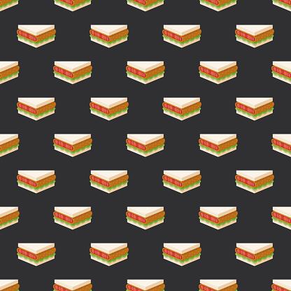 Wagyu Japanese Sandwich Pattern