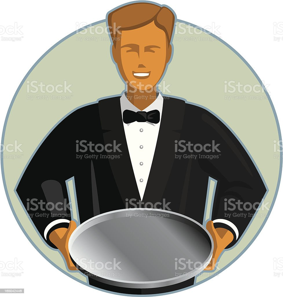 waiter royalty-free waiter stock vector art & more images of adult