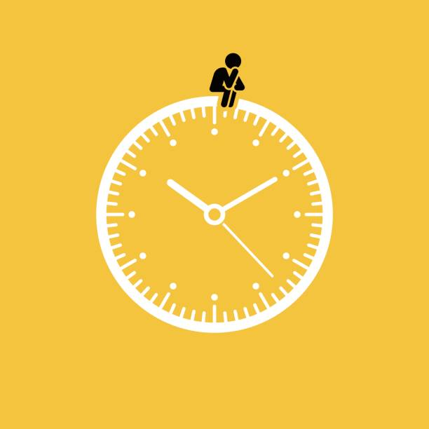 Waiting concept Waiting concept, vector illustration. waiting stock illustrations