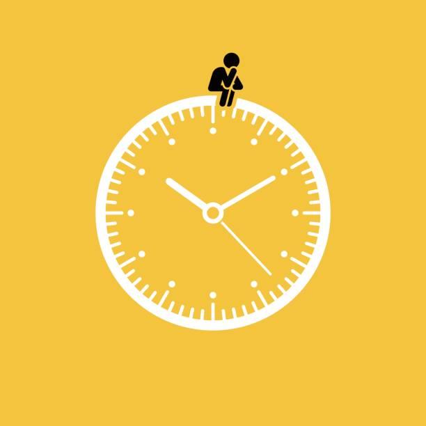ilustrações, clipart, desenhos animados e ícones de esperando o conceito - esperar