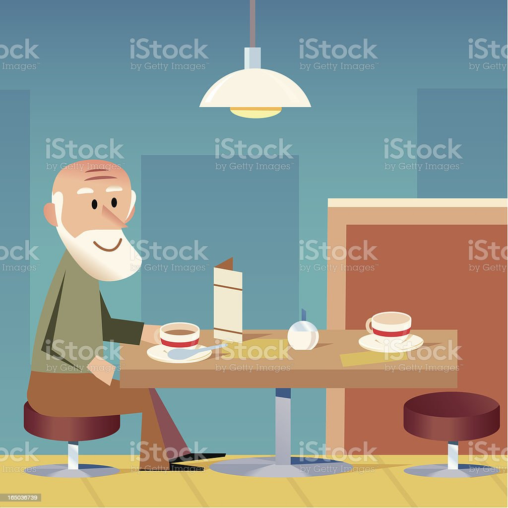 Waiting for a friend royalty-free waiting for a friend stock vector art & more images of advertisement