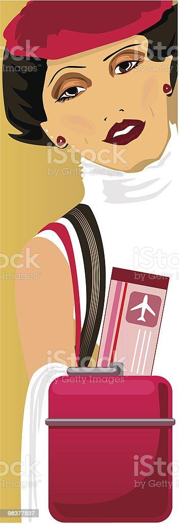 기다리는 탈것 royalty-free 기다리는 탈것 가방에 대한 스톡 벡터 아트 및 기타 이미지