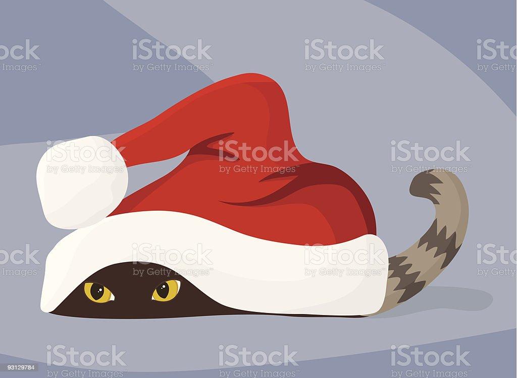 Waiting for Santa royalty-free stock vector art