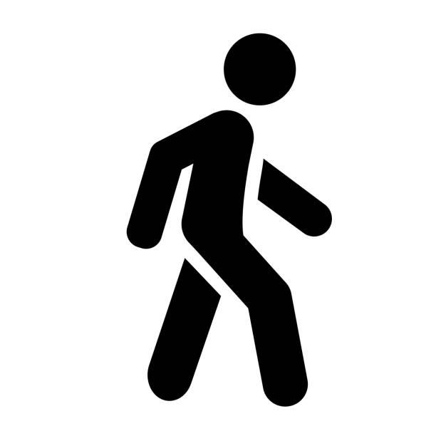 stockillustraties, clipart, cartoons en iconen met wandeling - wandelen