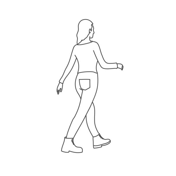 Person Standing Sideways Png & Free Person Standing Sideways.png  Transparent Images #97621 - PNGio