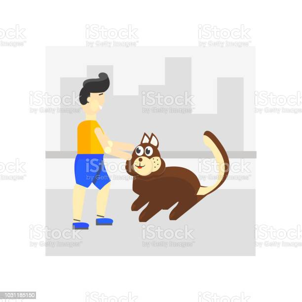 Walking the dog icon vector sign and symbol isolated on white the vector id1031185150?b=1&k=6&m=1031185150&s=612x612&h= ljegauokfuqk2fhwc26 0s3yd6i 63p09piezmwajs=