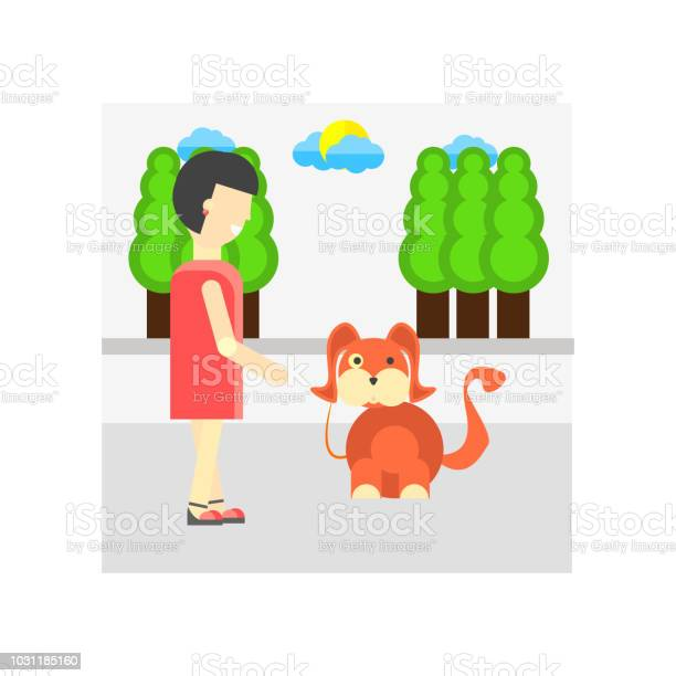 Walking the dog icon vector sign and symbol isolated on white the vector id1031185160?b=1&k=6&m=1031185160&s=612x612&h=89lkwjbhlarf2hqyskqc039k5awvxqdvmcehl i avg=