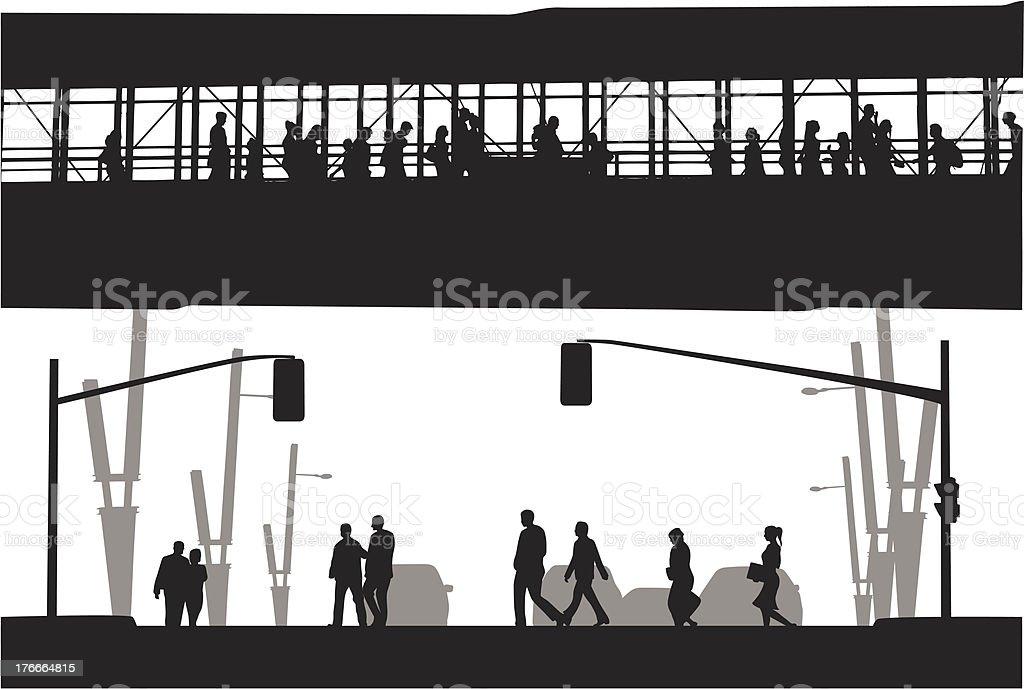 Walkway royalty-free walkway stock vector art & more images of illustration