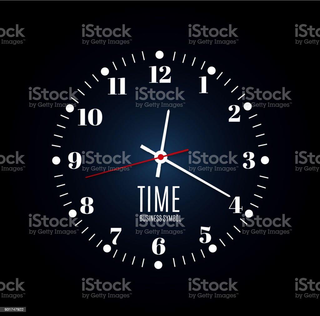Horloge De Bureau Originale bureau dhorloge murale modèle de conception en vecteur