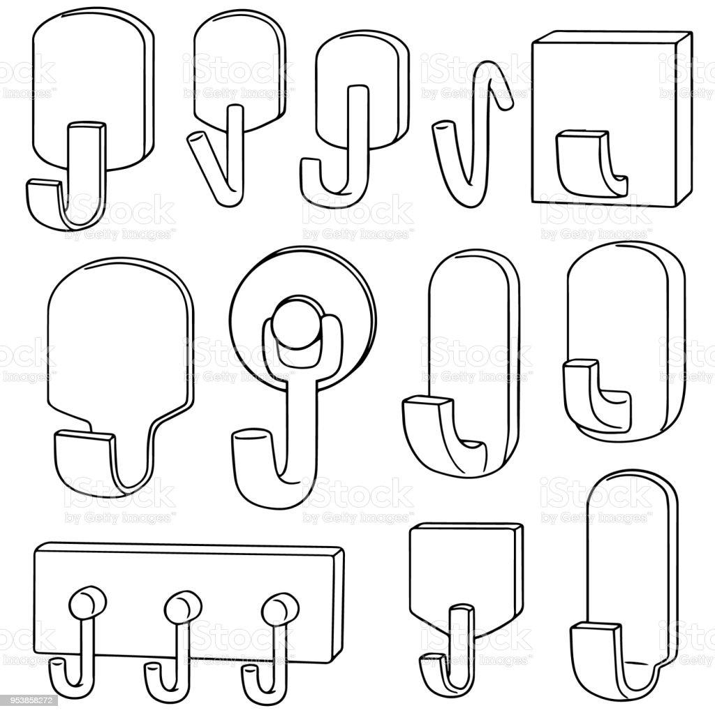 Muur Haken Stockvectorkunst En Meer Beelden Van Aluminium 953858272