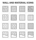 Wall icon sets