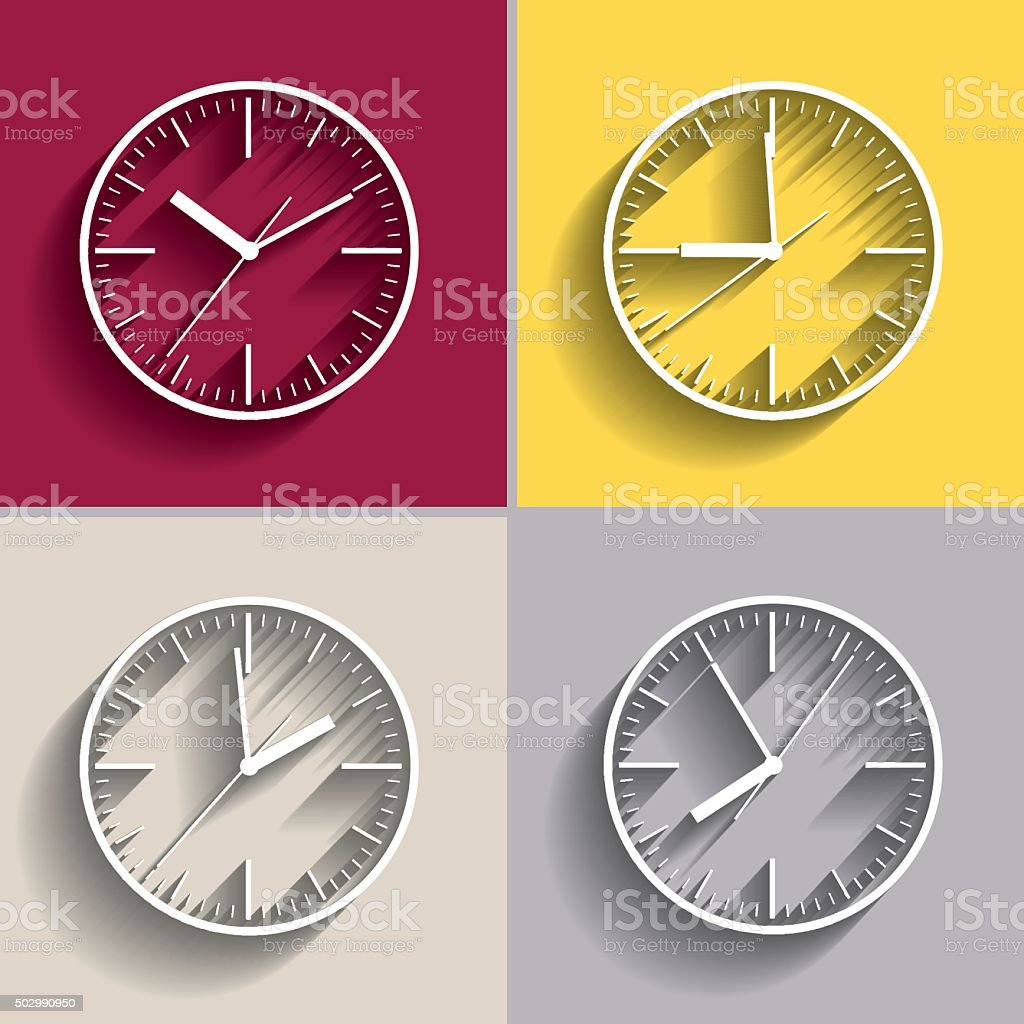 Wall mounted digital clock gallery home wall decoration ideas wall mounted digital clock stock vector art 502990950 istock wall mounted digital clock royalty free stock amipublicfo Image collections