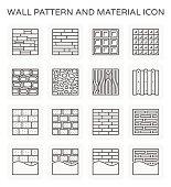 wall pattern icon