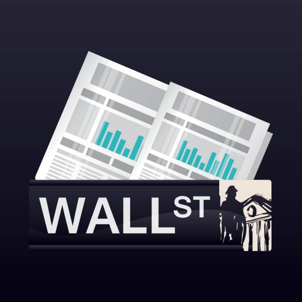wall street new york statistics economy wall street new york statistics economy vector illustration eps 10 wall street stock illustrations