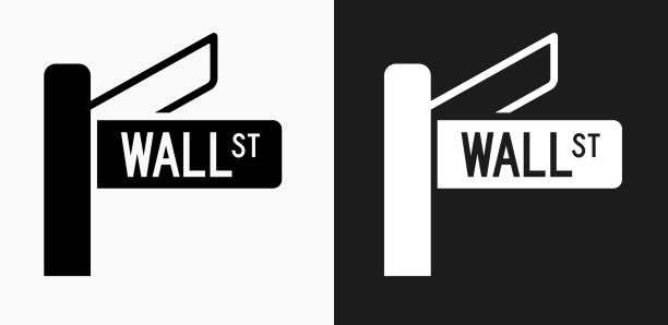 Royalty Free Wall Street Sign Clip Art, Vector Images ...