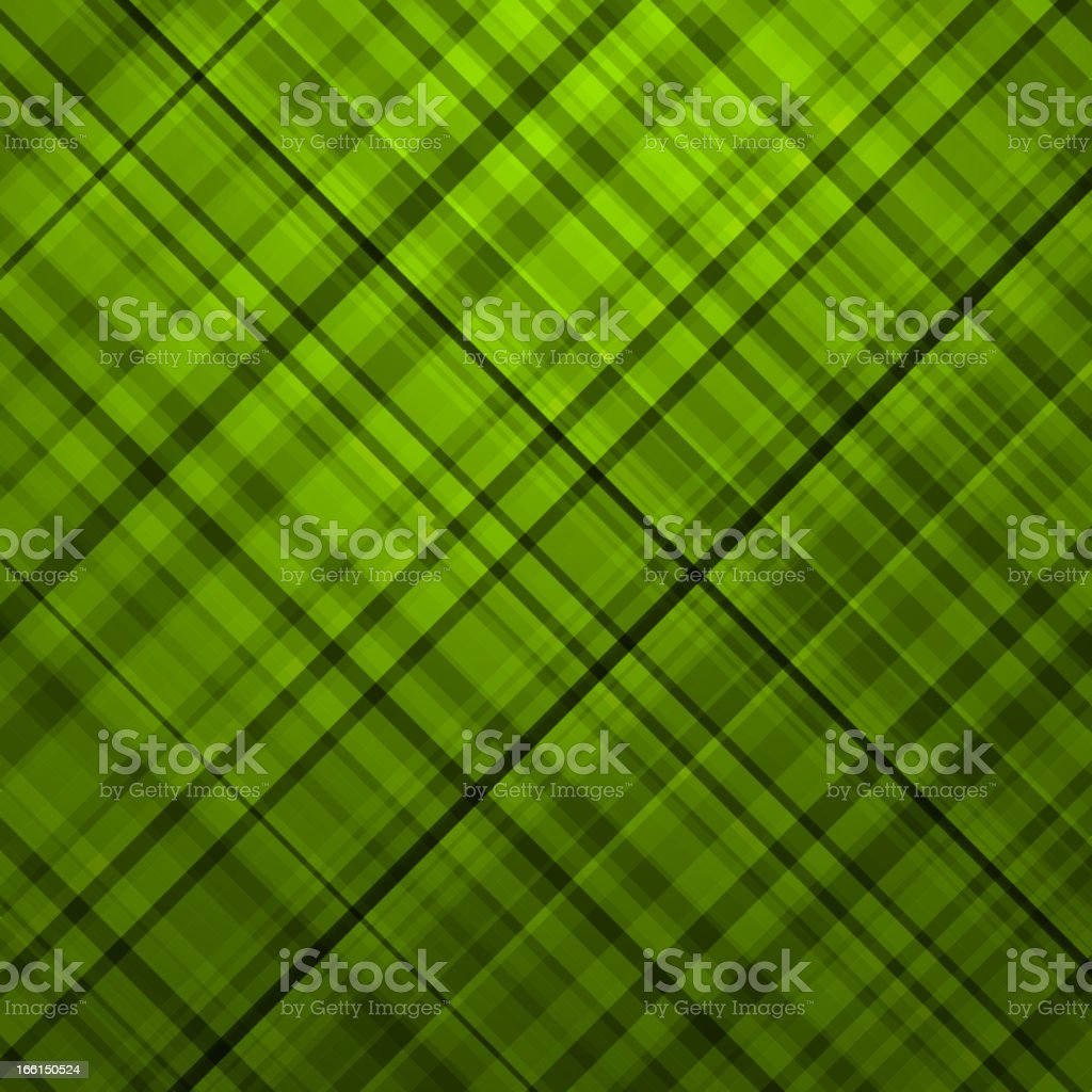 Wallace tartan green background. EPS 8 royalty-free stock vector art