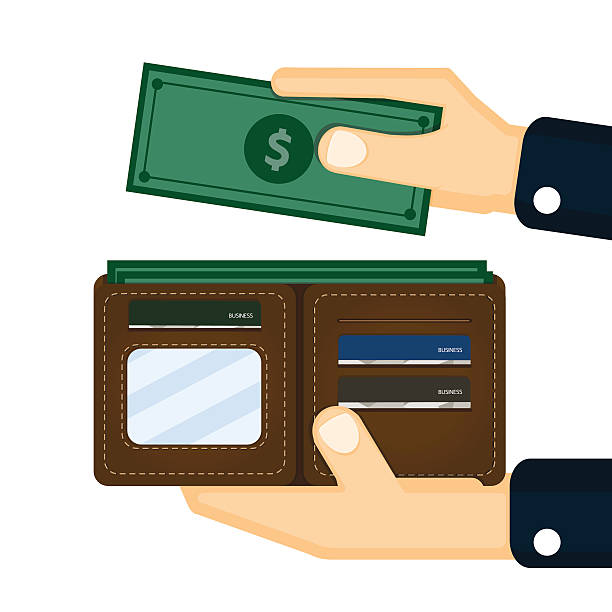 Royalty Free Open Wallet Clip Art, Vector Images ...