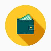 istock Wallet Flat Design E-Commerce Icon 912819642