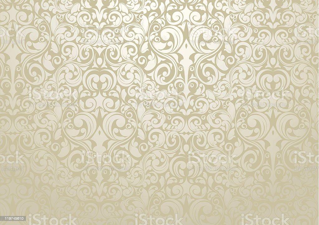 Wallpaper Design vector art illustration