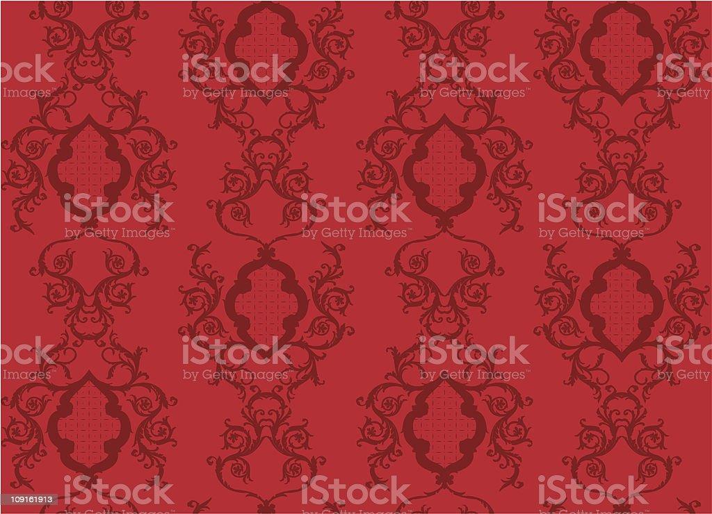 Wallpaper velvet crush royalty-free stock vector art