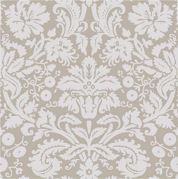 wallpaper_grey beige - plüschmuster stock-grafiken, -clipart, -cartoons und -symbole
