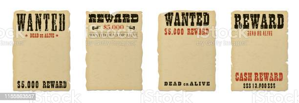 Wanted dead or alive blank poster template with grunge textured and vector id1155863557?b=1&k=6&m=1155863557&s=612x612&h=3pzdhkwbutk 9ol3i2sfsqwbs9wetrs80oxdswvaqs0=